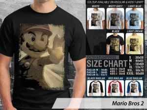Kaos Game Mario Bros Nintendo, Kaos Game Mario Bros Japanese, Kaos Mario Bros NES Famicom