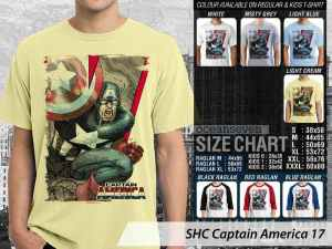 Kaos Film Marvel Captain America Avengers, Kaos Film Captain America Couple Anak-anak, Kaos Captain America Anak-anak, Kaos Film Captain America Terbaru