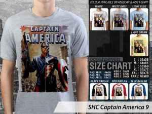 Kaos Captain America Steve Rogers, Kaos Captain America First Avengers, Kaos Captain America Winter Soldiers, Kaos Film Captain America Civil War, Kaos Captain America Couple